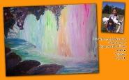 Пещера за радужным водопадом